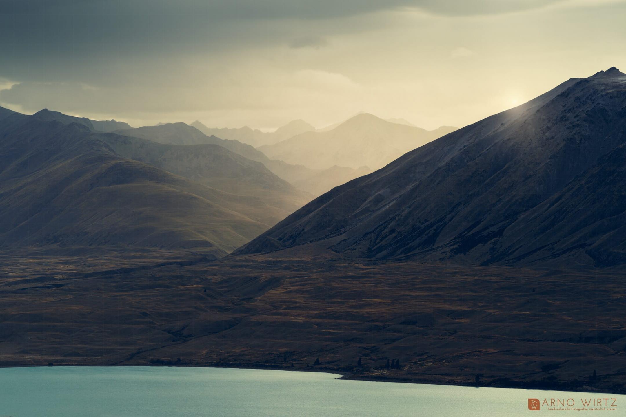 Lake Tekapo, New Zealand / Copyright © 2021 Arno Wirtz